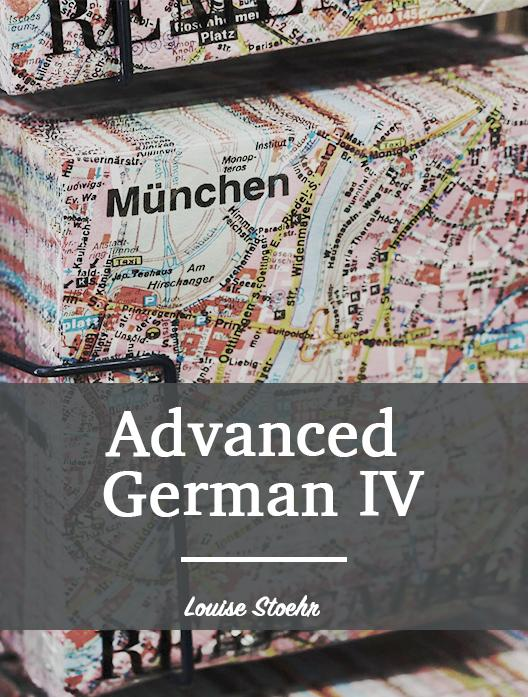 Advanced German IV