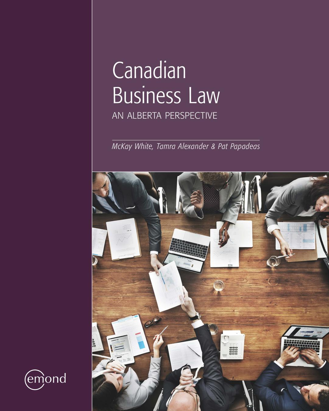 Canadian Business Law: An Alberta Perspective