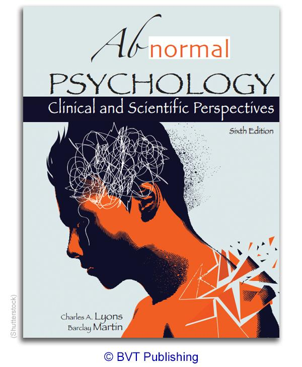 Abnormal Psychology: Clinical and Scientific Perspectives, Sixth Edition