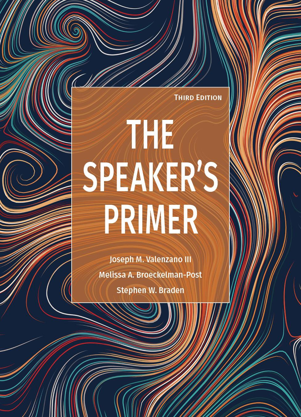 The Speaker's Primer, Third Edition