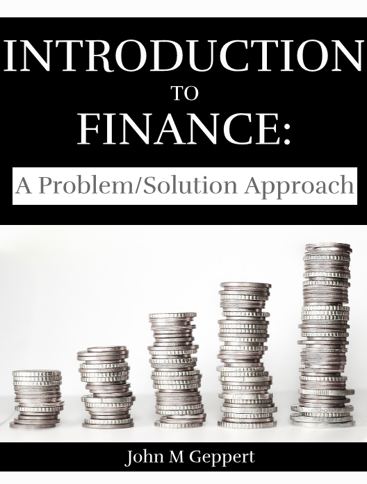 Introduction to Finance: A Problem/Solution Approach