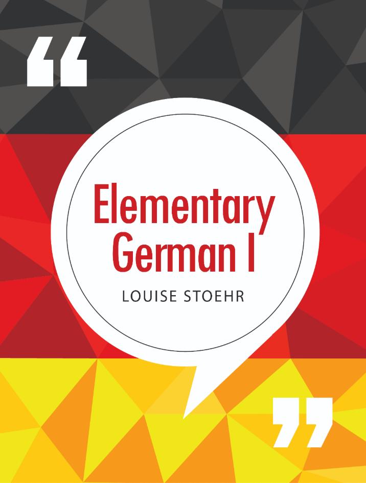 Elementary German I