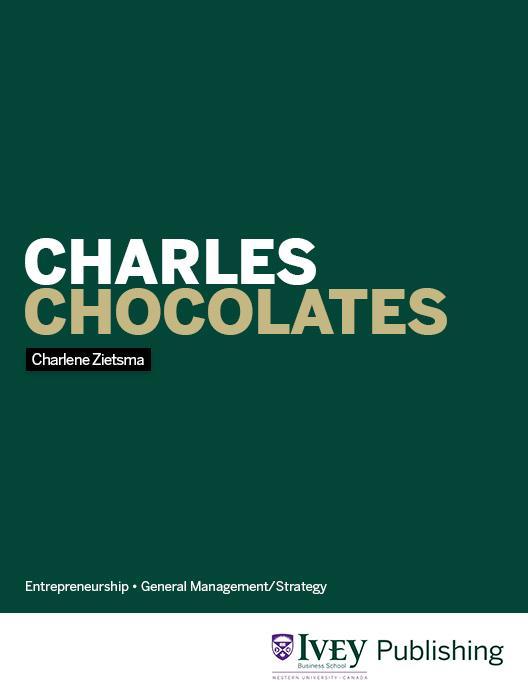 Charles Chocolates (Case Study)