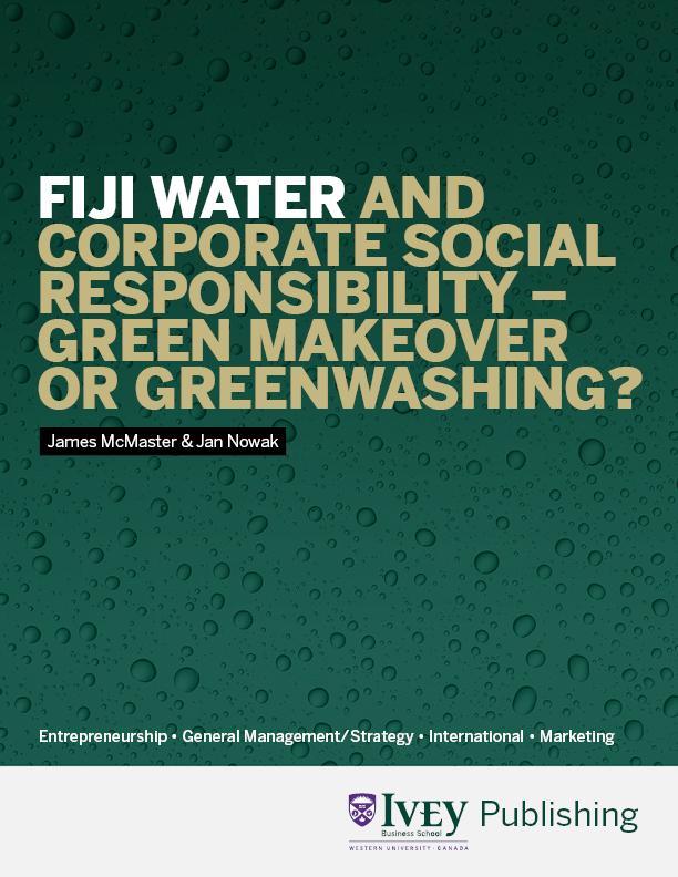 fiji water marketing case study