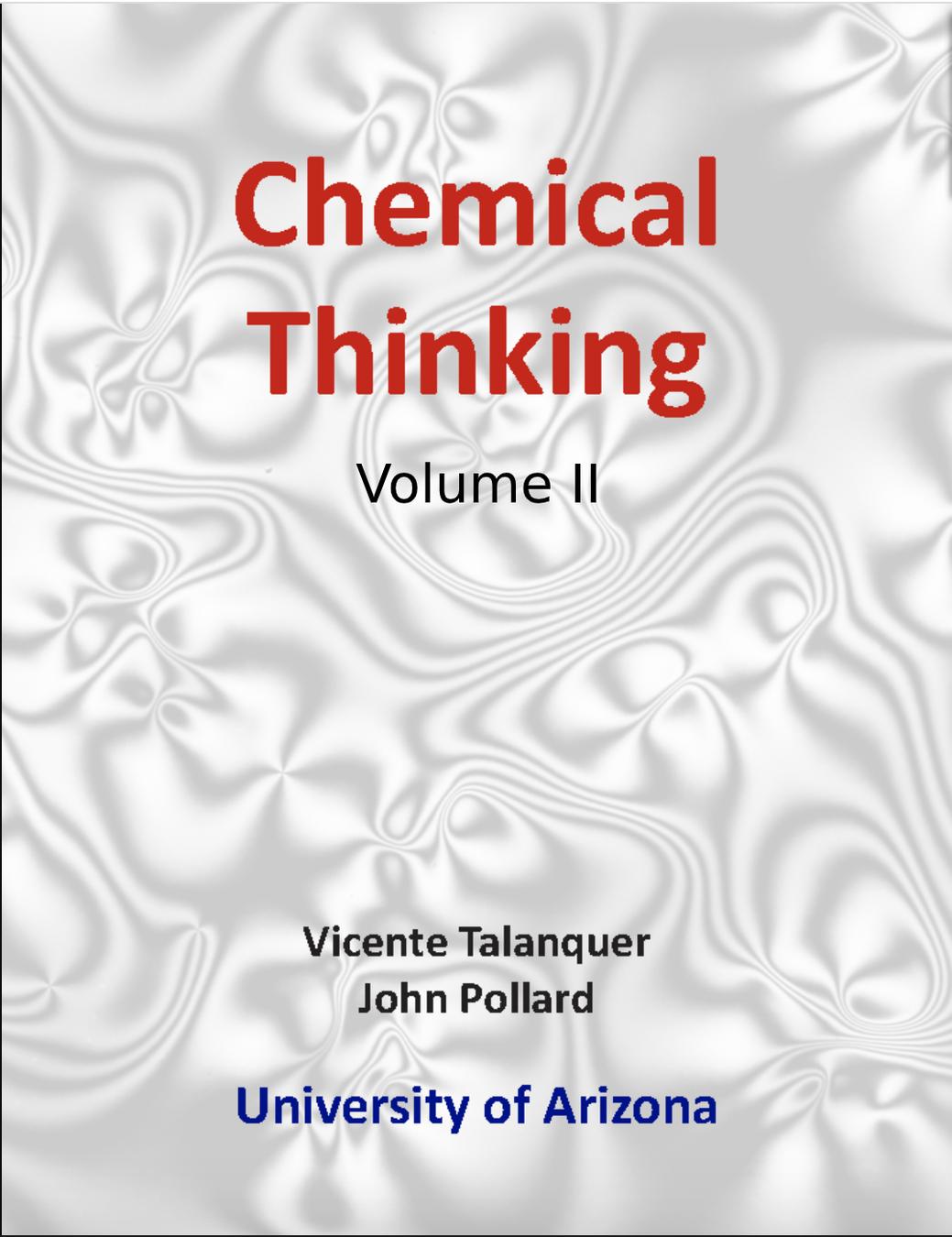 Chemical Thinking II